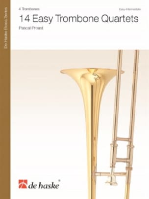 Pascal Proust - 14 Easy Trombone Quartets - Sheet Music - di-arezzo.co.uk