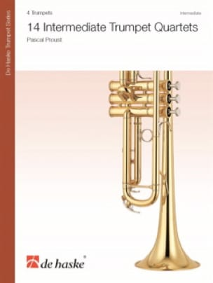 Pascal Proust - 14 Intermediate Trumpet Quartets - Sheet Music - di-arezzo.co.uk