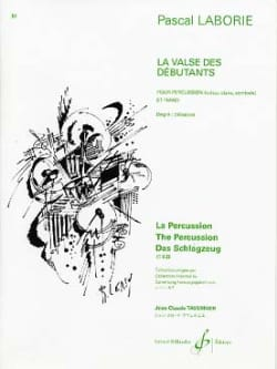 La Valse Des Débutants - Pascal Laborie - Partition - laflutedepan.com