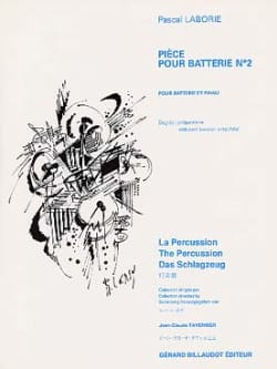 Pascal Laborie - Battery Part N ° 2 - Sheet Music - di-arezzo.com