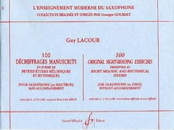 Guy Lacour - 100 Decryptions Manuscripts Volume 2 - Sheet Music - di-arezzo.com