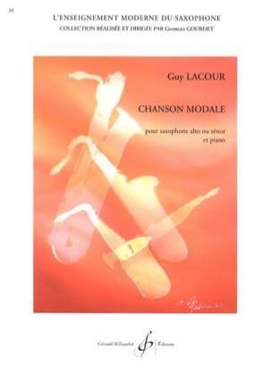 Guy Lacour - Chanson Modale - Partition - di-arezzo.fr