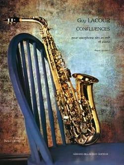 Guy Lacour - Confluence - Sheet Music - di-arezzo.com