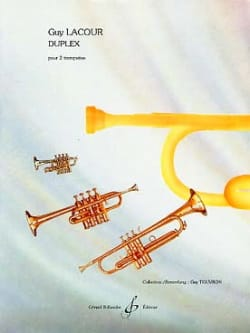 Guy Lacour - Duplex - Sheet Music - di-arezzo.com
