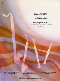 Mélonade - Guy Lacour - Partition - Saxophone - laflutedepan.com
