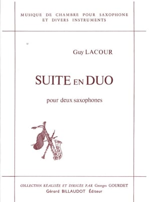 Guy Lacour - Suite In Duo - Sheet Music - di-arezzo.com