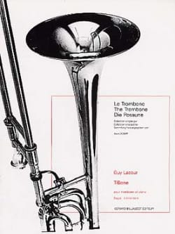 T-Bone Guy Lacour Partition Trombone - laflutedepan
