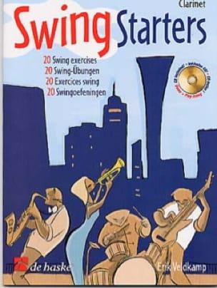 Swing Starters Erik Veldkamp Partition Clarinette - laflutedepan