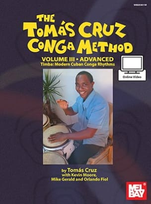 Tomas Cruz - Tomas Cruz Conga Method: Volume 3 - Advanced - Partitura - di-arezzo.it