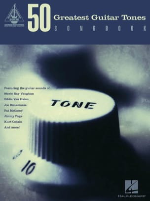 - 50 Greatest Guitar Tones Songbook - Sheet Music - di-arezzo.co.uk