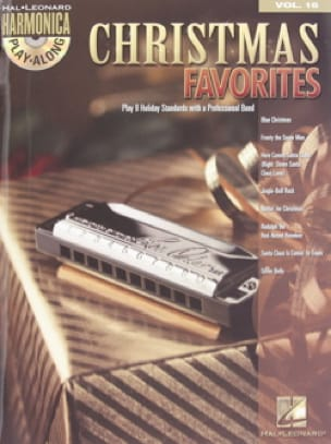Noël - Harmonica Play-Along Volume 16 - Christmas Favorites - Partition - di-arezzo.fr