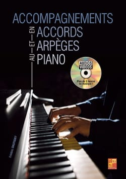 Frédéric Dautigny - Accompaniments in Chords and Arpeggios in Piano - Sheet Music - di-arezzo.co.uk