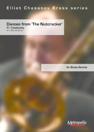 TCHAIKOVSKY - Dances, from The Nutcracker - for brass quintet - Sheet Music - di-arezzo.co.uk