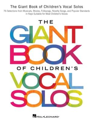The Giant Book of Children's Vocal Solos - laflutedepan.com