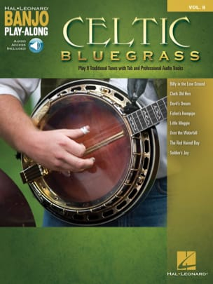 Banjo Play-Along Volume 8 - Celtic Bluegrass Partition laflutedepan