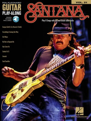Carlos Santana - Guitar Play-Along Volume 21 - Santana - Sheet Music - di-arezzo.co.uk