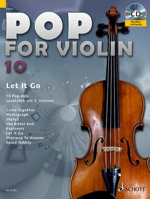 - Pop for Violin Volume 10 - Let It Go - Partition - di-arezzo.fr