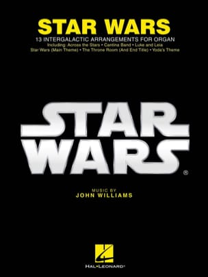 John Williams - Star Wars for Organ - Sheet Music - di-arezzo.co.uk