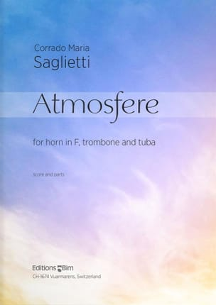 Atmosfere - Corrado Maria Saglietti - Partition - laflutedepan.com
