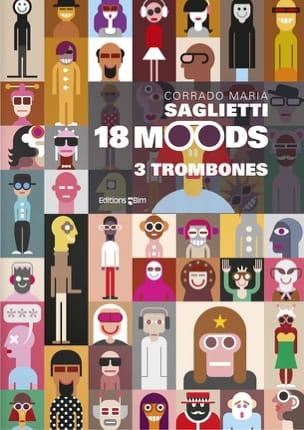 18 Moods - Corrado Maria Saglietti - Partition - laflutedepan.com