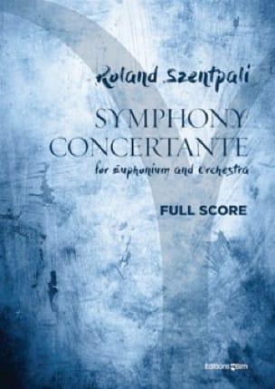 Roland Szentpali - Symphony Concertante - Euphonium and piano - Sheet Music - di-arezzo.com