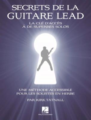 Secrets de la Guitare Lead - Kirk Tatnall - laflutedepan.com