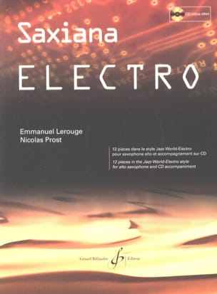 Nicolas Prost & Emmanuel Lerouge - Saxiana Electro - 楽譜 - di-arezzo.jp