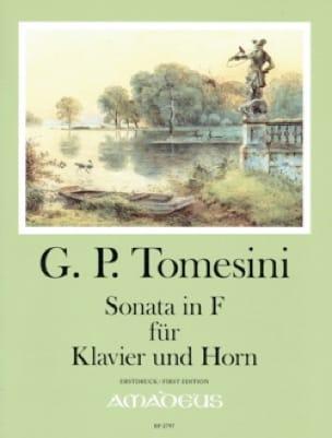 Sonate en Fa - Giovanni Paolo Tomesini - Partition - laflutedepan.com