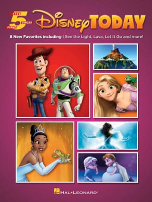 DISNEY - Five Finger Piano Songbook - Disney Today - Sheet Music - di-arezzo.com