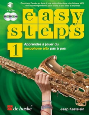 Jaap Kastelein - Easy Steps - Volume 1 - Partition - di-arezzo.fr