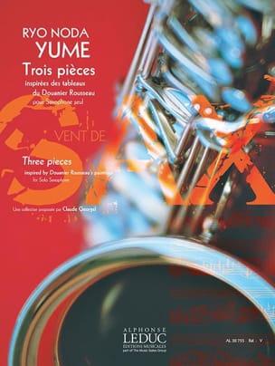 Yume - Trois pièces - Ryo Noda - Partition - laflutedepan.com
