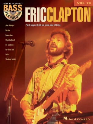 Eric Clapton - Bass Play-Along Volumen 29 - Eric Clapton - Partition - di-arezzo.es