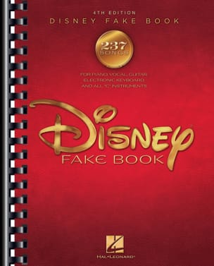 DISNEY - The Disney Fake Book - 4th Edition - Partition - di-arezzo.fr