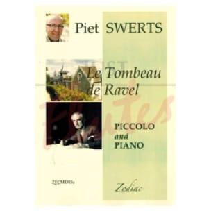 Piet Swerts - Le Tombeau de Ravel - Partition - di-arezzo.fr