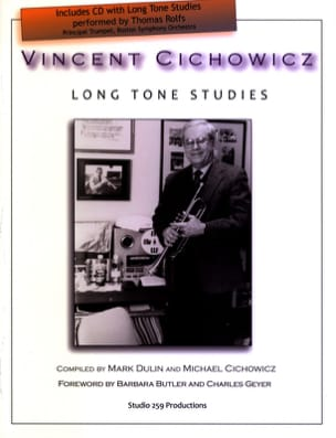 Vincent Cichowicz - Long Tone Studies - Sheet Music - di-arezzo.co.uk