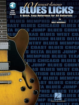 101 Must - Know Blues Licks Wolf Marshall Partition laflutedepan