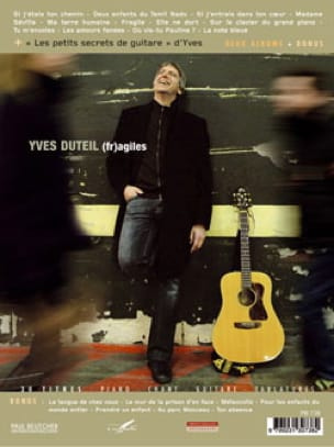 Yves Duteil - Fragile and Without Waiting - Sheet Music - di-arezzo.co.uk