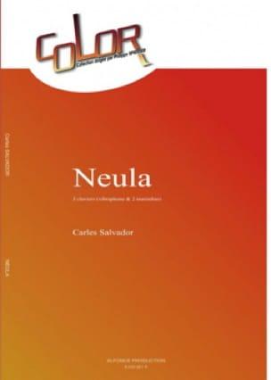 Neula Carles Salvador Partition Ensemble de percussions - laflutedepan