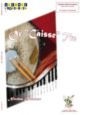 Nicolas Dunesme - Gold Cashier Tre - Sheet Music - di-arezzo.com