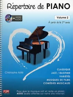 Christophe Astié - Piano Directory Volume 2 - Sheet Music - di-arezzo.co.uk