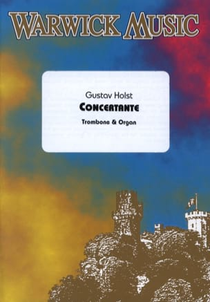 Gustav Holst - Concertante - Partition - di-arezzo.fr