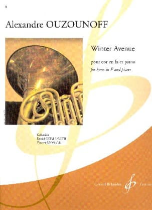 Alexandre Ouzounoff - Winter Avenue - Sheet Music - di-arezzo.com