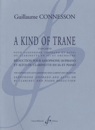 Guillaume Connesson - A Kind of Trane - Partition - di-arezzo.fr