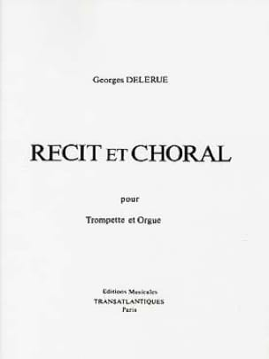 Georges Delerue - Story and Choral - Sheet Music - di-arezzo.co.uk