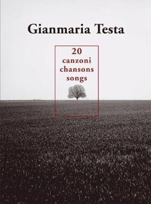 Gianmaria Testa - 20 Canciones - Canzoni - Canciones - Partitura - di-arezzo.es