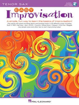 Easy Improvisation for Tenor Sax - Peter Deneff - laflutedepan.com