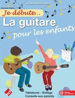 Je débute la guitare pour les enfants Alexandre Wallon laflutedepan