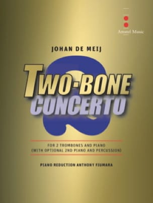 Meij Johan De - Two-Bone Concerto - Partition - di-arezzo.fr