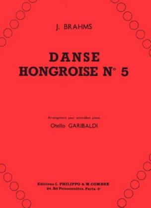 Danse Hongroise n°5 BRAHMS Partition Accordéon - laflutedepan