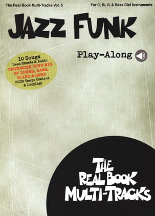 - Real Book Multi-Tracks Volume 5 - Jazz Funk Play-Along - Partition - di-arezzo.fr